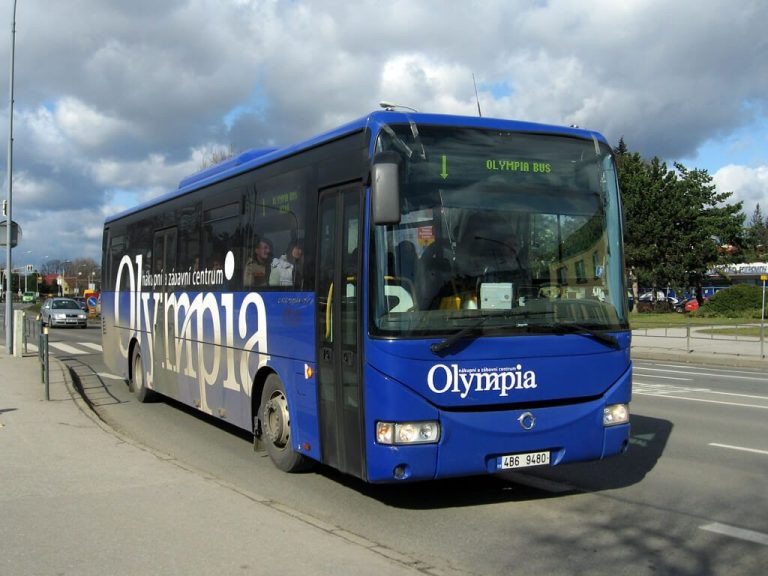 Bus to Olympia