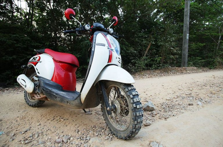 Scooter to Rayong Province