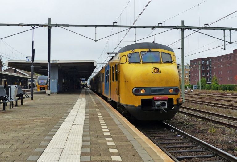 At the railway station in Roermond