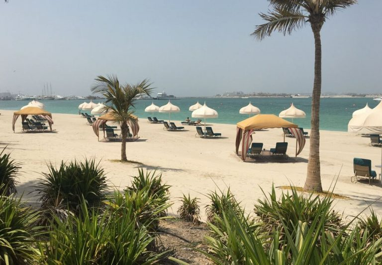 Beach at One & Only Royal Mirage Resort Dubai at Jumeirah Beach