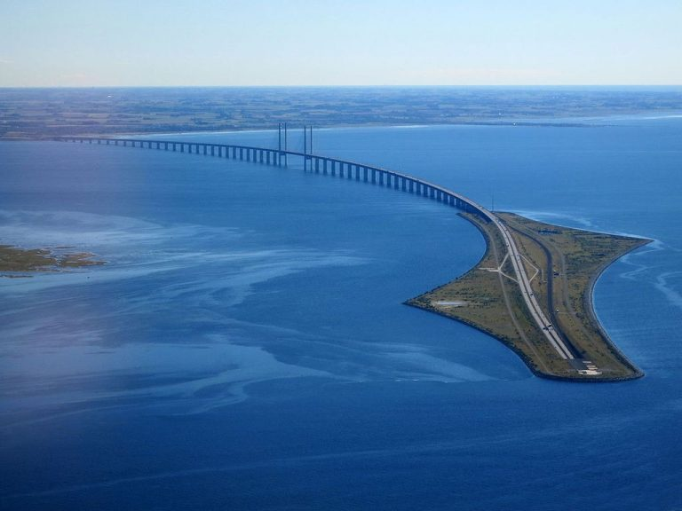 Oresund Tunnel Bridge