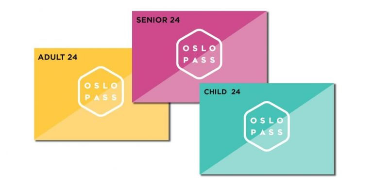 Oslo Pass Map