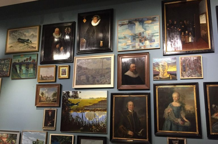 Paintings at the City Museum, Alkmaar