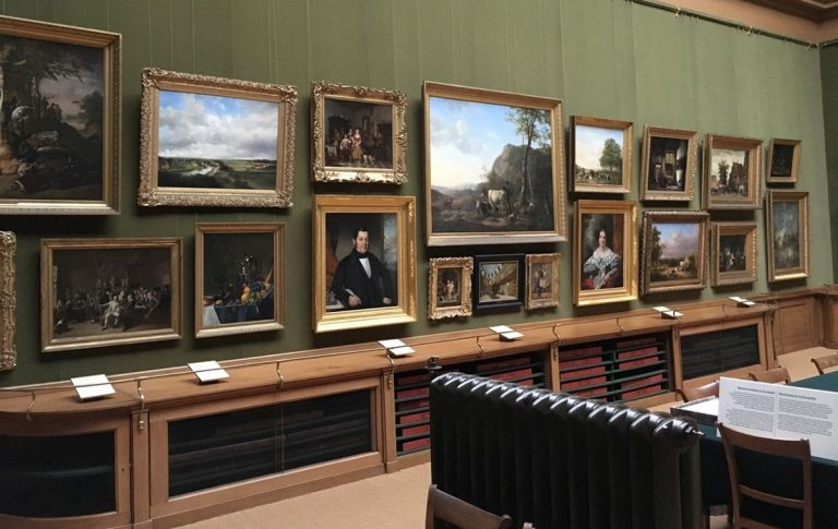 Paintings at the Taylor Museum