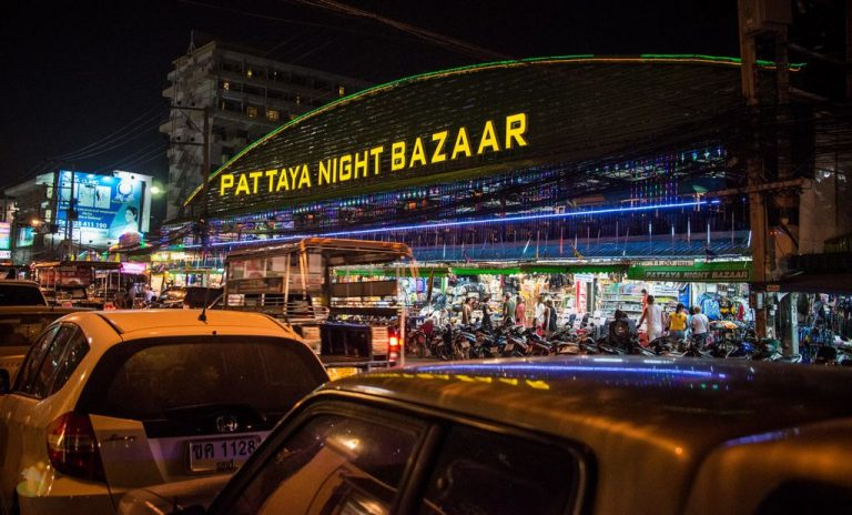 Pattaya Night Bazaar Night Market