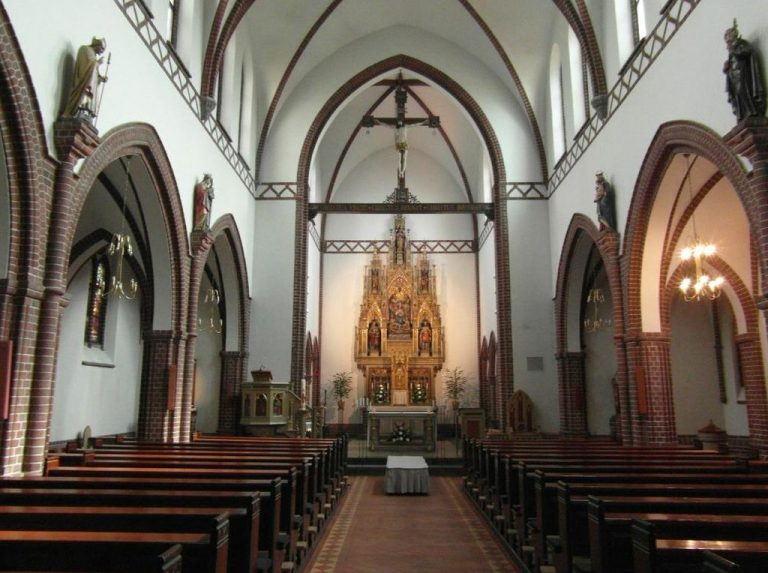 In the church of St. Albany, Odense