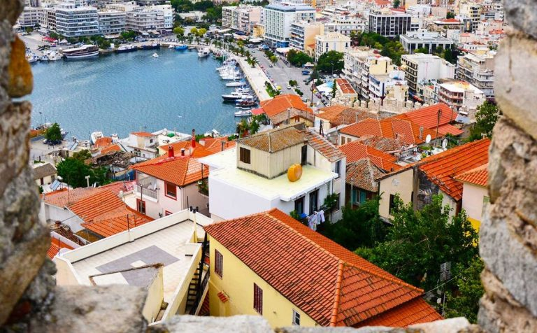 Architecture of the city of Kavala