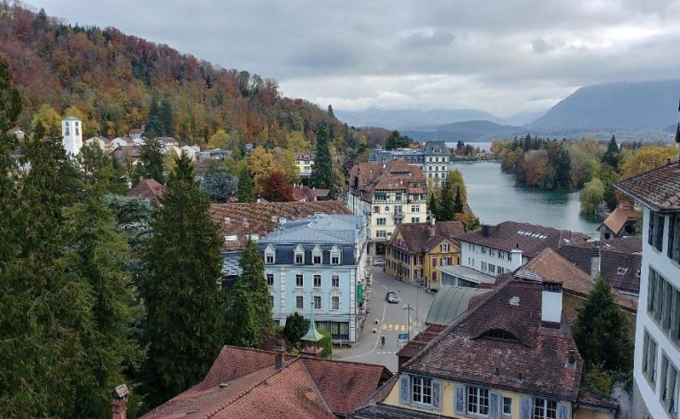 View from Thun Castle