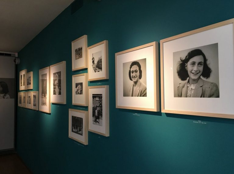 Photos of Anne Frank