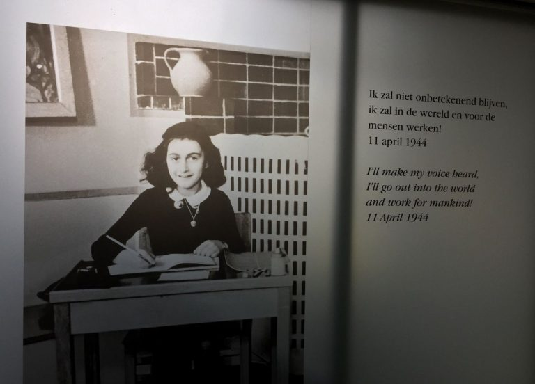 Photo by Anne Frank