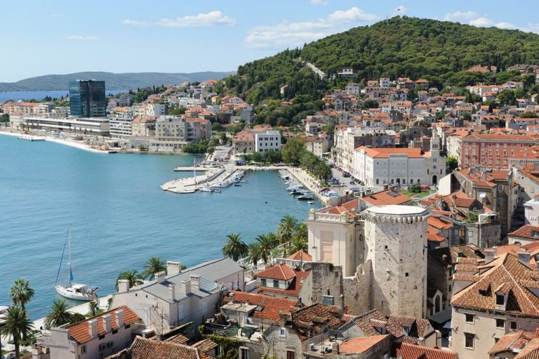 The spa town of Split