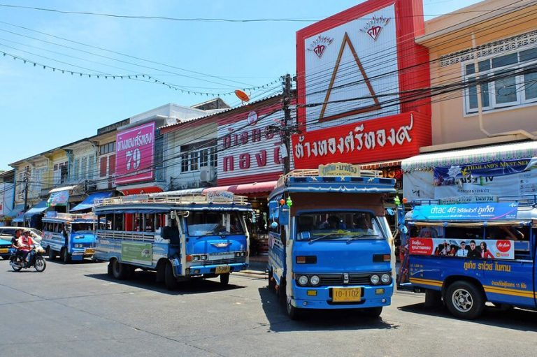 From Phuket Town by bus