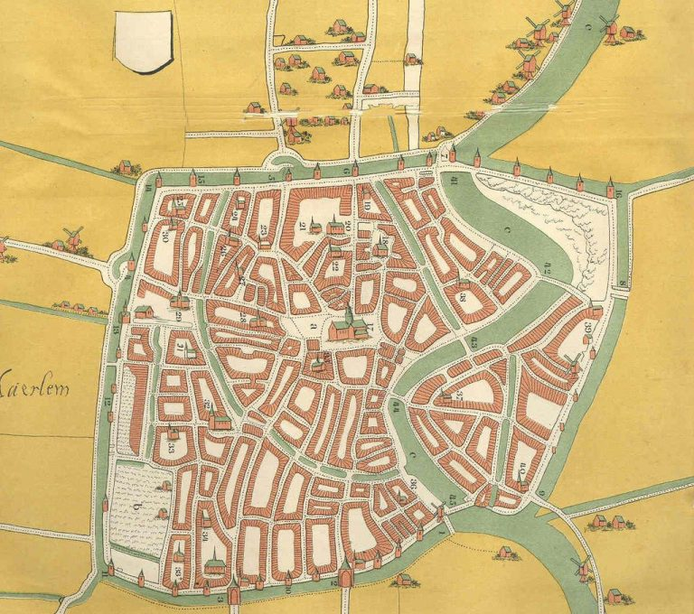 City plan in 1550