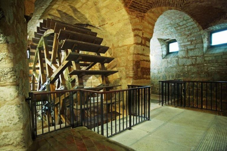 Pilsen historical dungeon