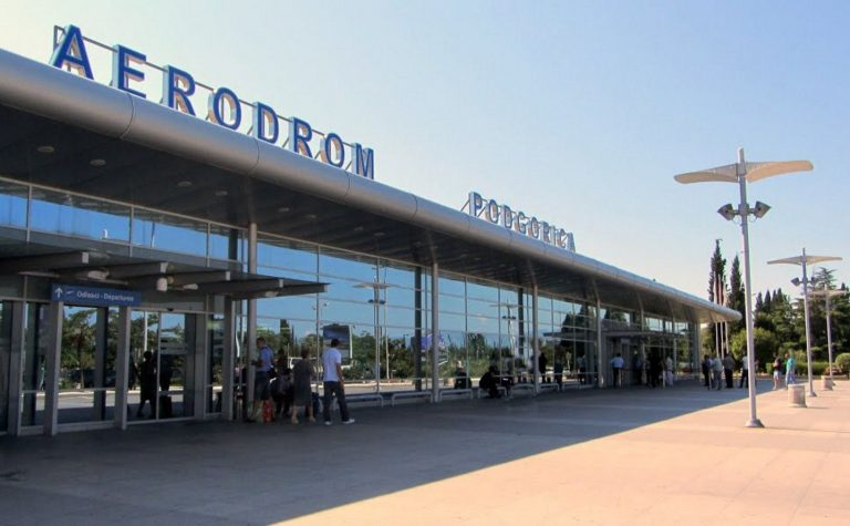 Photo: Montenegro capital airport