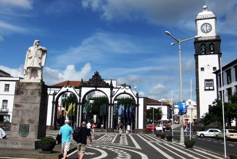 Ponta Delgada - a city in Portugal