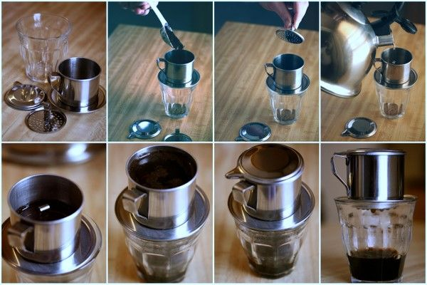 How to make coffee in Vietnam
