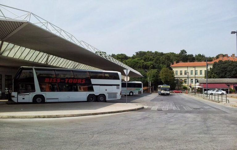 Bus station in Pula