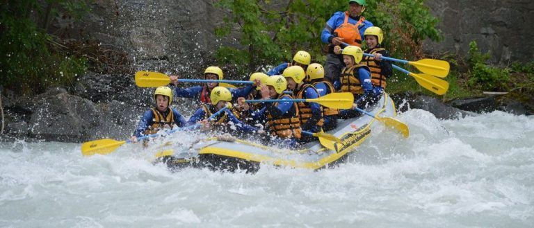Rafting at Serfaus-Fiss-Ladis