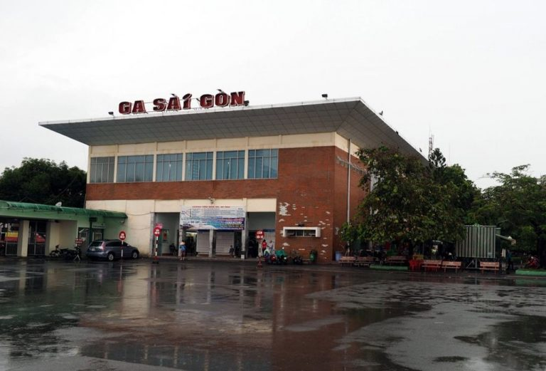 Railway Station in Ho Chi Minh City