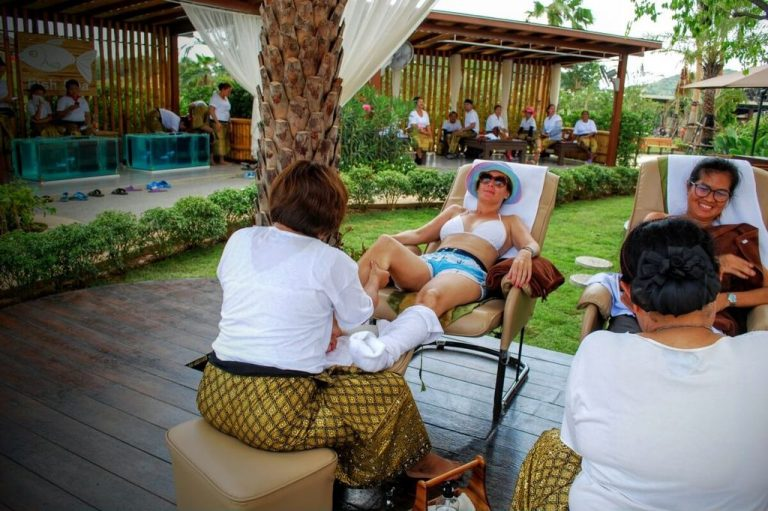 Massage at Ramayana Water Park