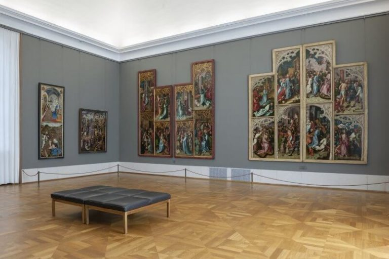 The works of famous artists