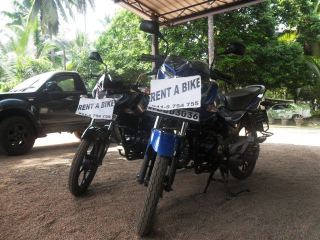 Sri Lanka bike rental
