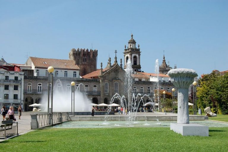 Republic Square in Braga