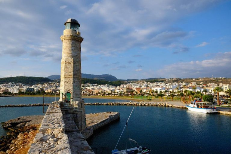 Rethymnon Lighthouse, Crete