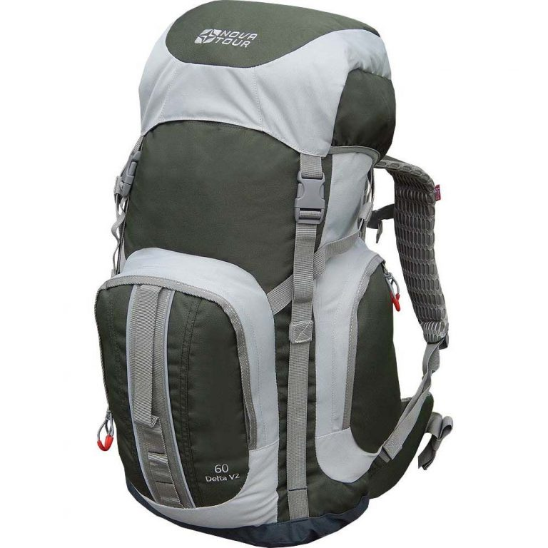 Capacious backpack