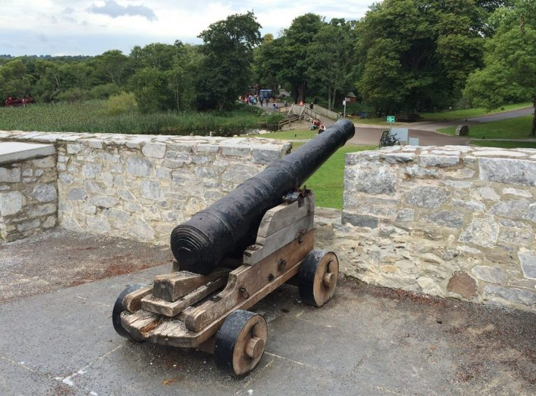 Cannon at Ross Castle