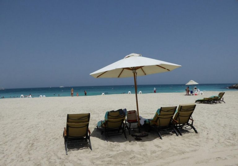 Rove Dubai Marina is within walking distance of the beach