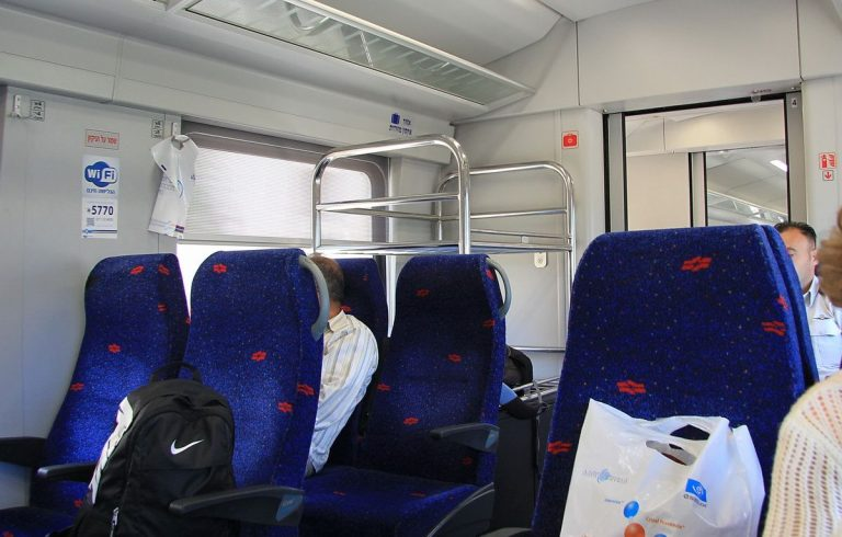 On the train to Acre