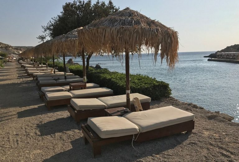 Sand and Pebble Beach Kallithea Springs