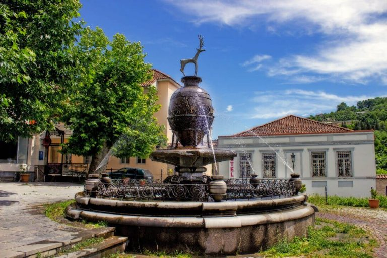 Fountain on Heraclius II Square