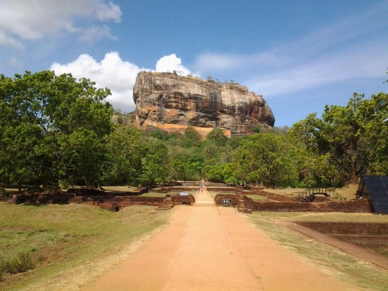 View of Mount Sigiriya