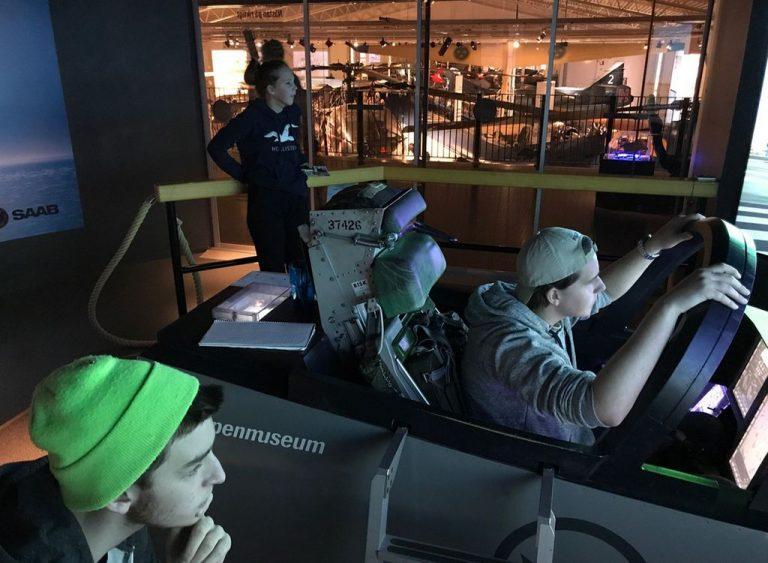Museum simulator