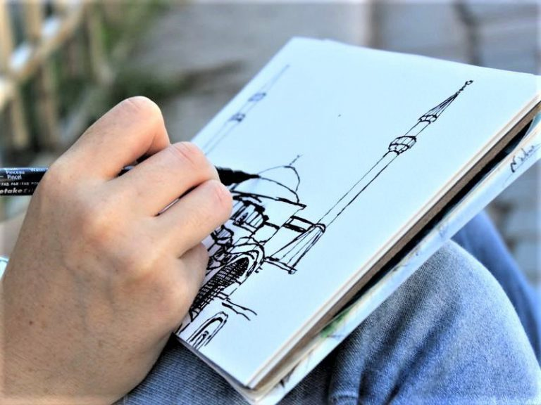 Sketching tour of Istanbul