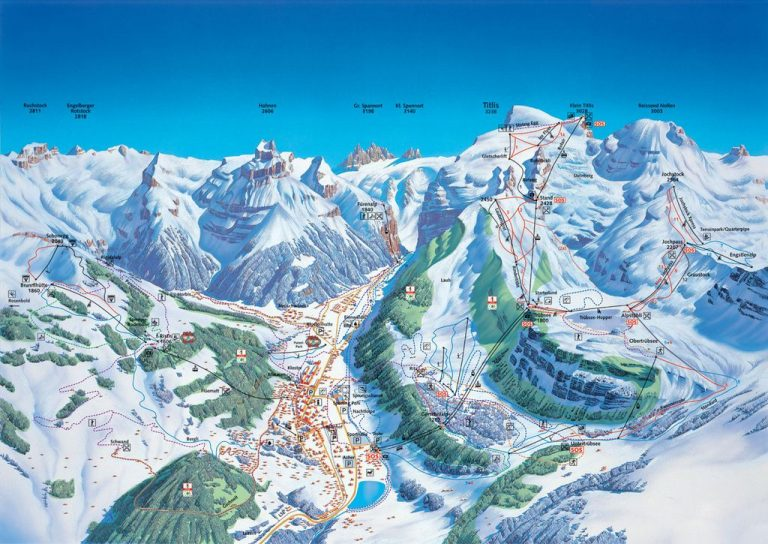 Engelberg ski slopes