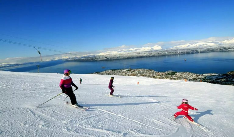 Photo: Alpine skiing in Narvik
