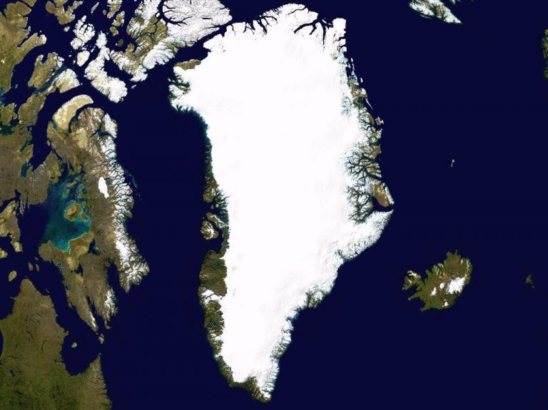 Greenland Space Photo