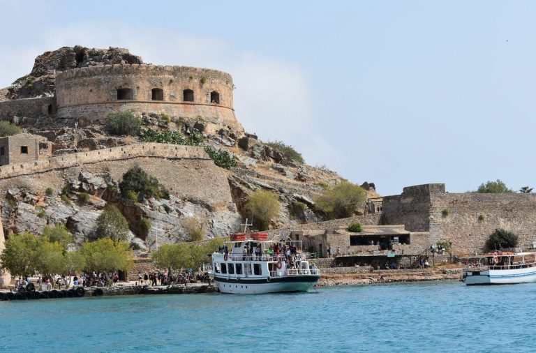 Excursion to the island of Spinalonga in Greece