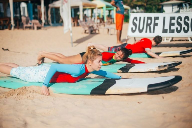 Surf Camp Lessons