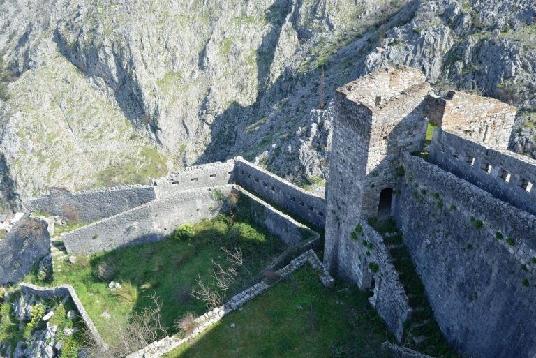 Photo: view of the fortress from its highest point