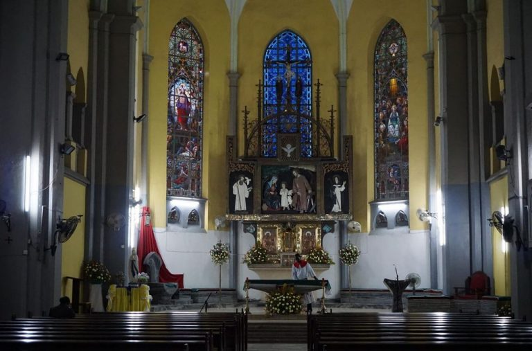 In St. Joseph's Cathedral