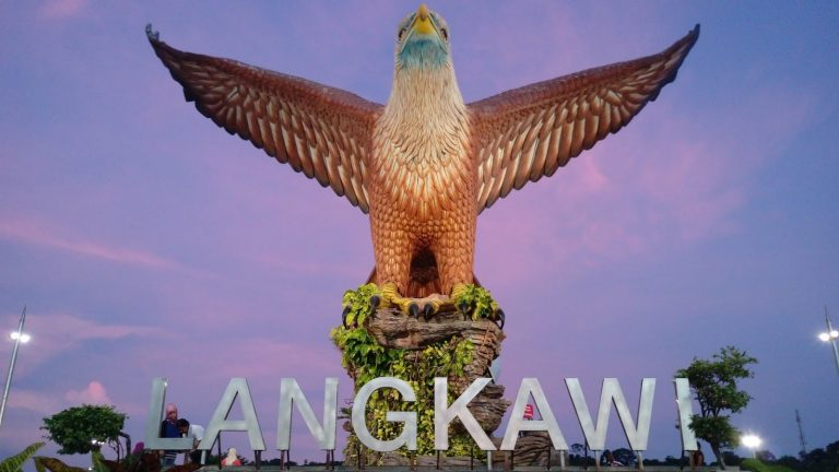 Eagle Statue in Langkawi Square