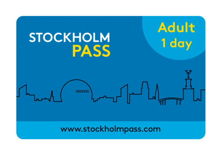 Stockholm card for an adult for one day