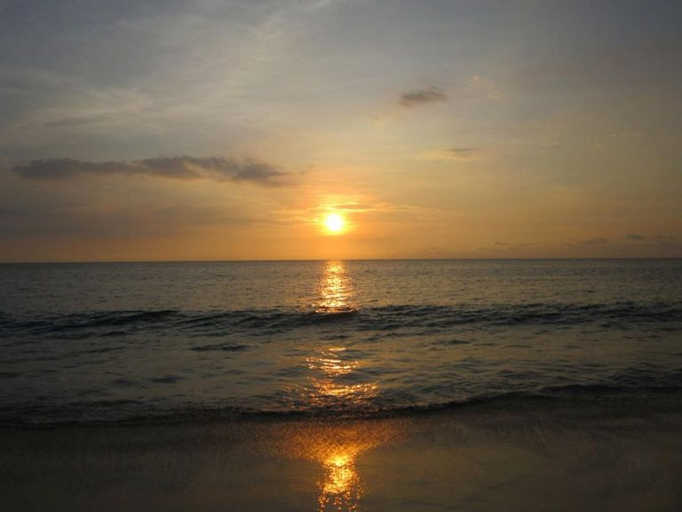 Sunset on Karon Beach
