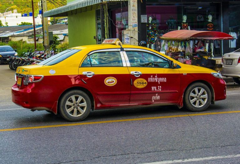 Taxi in Phuket