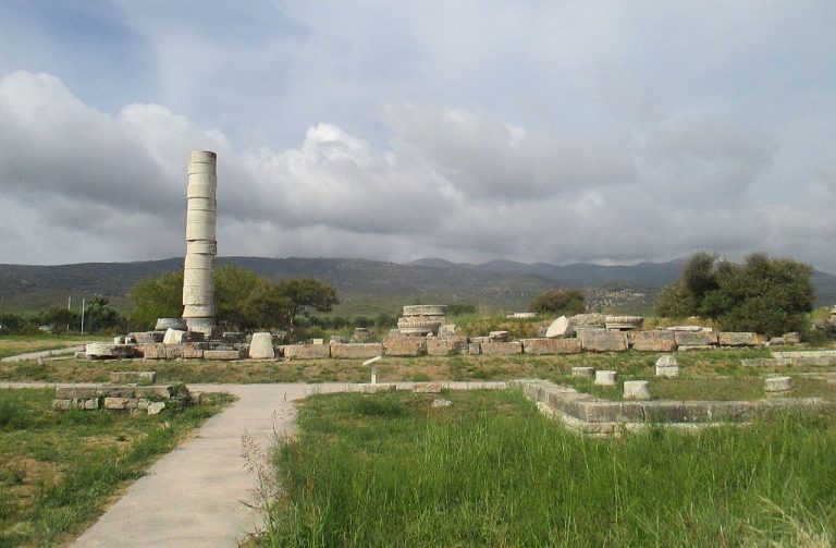 Geryon Temple on Samos Island